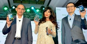 20Siddiqui, Vice President and Country Head, HTC India, Chitrangada Singh,Chia-Lin Chang, President of Global Sales and CFO
