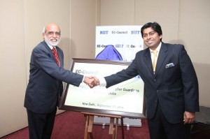 From Left to Right P Rajendran COO NIIT Limited and Jay Bavisi President and Co Founder EC Council