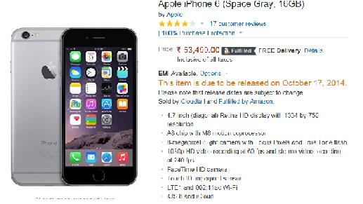bf49ab033dd591 Redington, Amazon, Flipkart and Infibeam Spearhead iPhone 6, iPhone ...