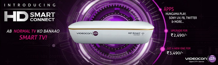 Videocon d2h Stream Box is Ready to Make any TV a Smart TV ...
