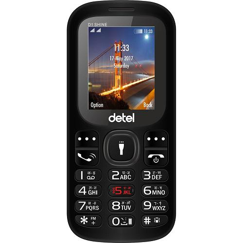 Detel unveils three new feature phones under INR 900