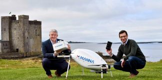 Samsung, Manna Partner to Launch Drone Delivery Service