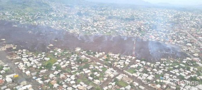 Vodacom, UNHCR bring aid to DRC affected by Nyiragongo volcano eruption
