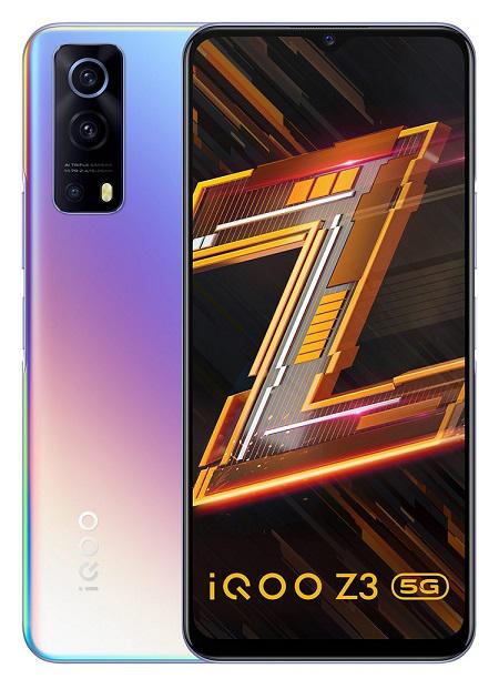 iQOO Launches Z3 5G Offering Ultra Gaming Experience